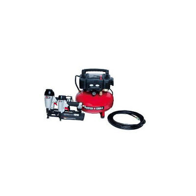 Porter-Cable Finish and Brad Nailer Combo Kit PCFP12656 New