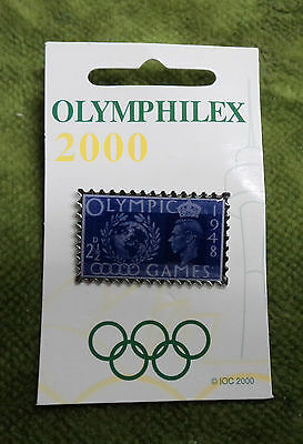 #P215. Olympic 2000 Exhibition Pin - London 1948
