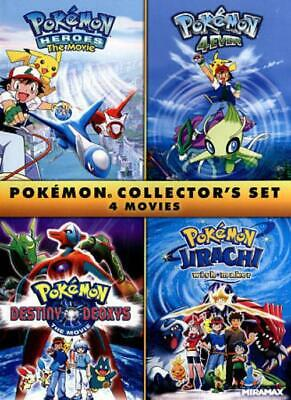 Pokemon Collector's Set: 4 Movies New Region 1 Dvd