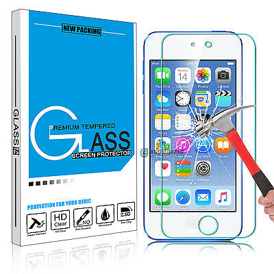 Premium 100% Real Tempered Glass Screen Protector Film for iPod Touch 5/6th Gen