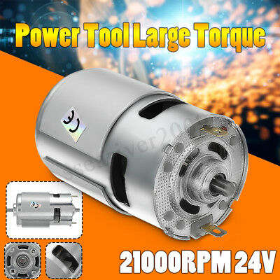 1PC DC 24V 21000RPM High Speed Large torque DC 775 Motor Electric Power Tool