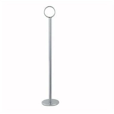 Winco TBH-12, 12-Inch High Stainless Steel Table Number Card Holder
