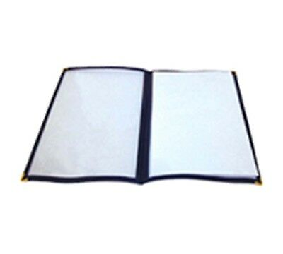 Winco PMCD-9B, 12x9.5-Inch Blue Double Fold Menu Cover