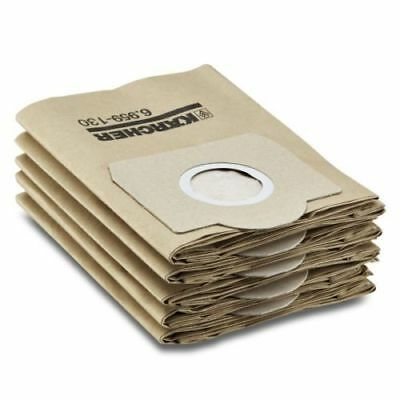 5 Pack Of Genuine Karcher Vacuum Hoover Paper Filter Bags 6.959-130.0/69591300
