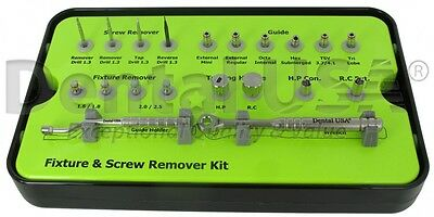 Dental USA-SCREW & FIXTURE REMOVER KIT-7822