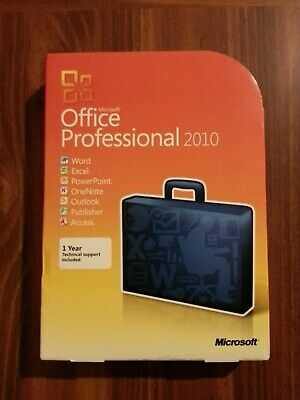 Genuine Microsoft Office 2010 Professional for 2 PCs Retail