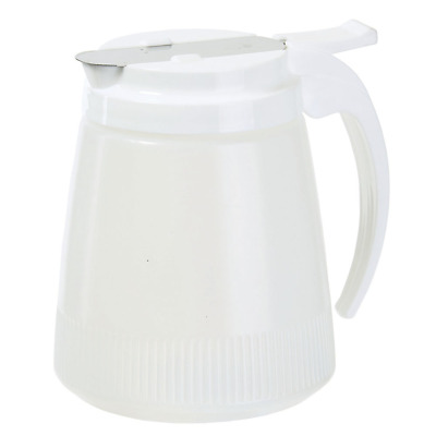 Winco PSUD-32, 32-Ounce Plastic Syrup Dispenser