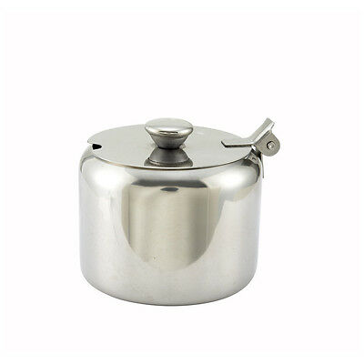 Winco T-710, 10-Ounce Sugar Bowl Can with Cover, Stainless Steel