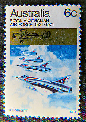 1971 Australian Stamps - 50th Anniversary of Royal Aust Airforce - Single MNH