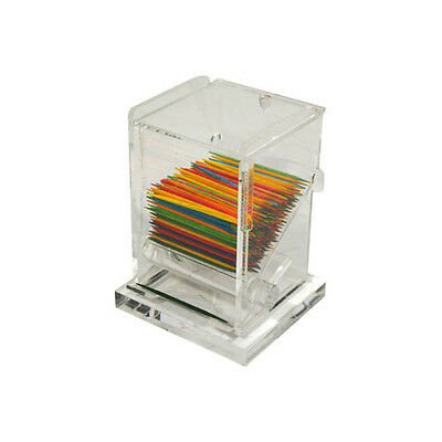 Winco ACTD-3, 3x2.5x4-Inch Clear Acrylic Toothpick Dispenser