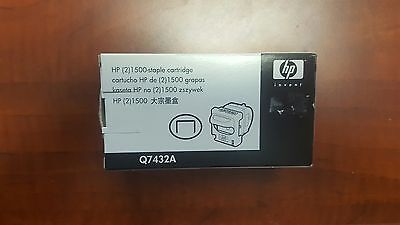 NEW IN BOX HP Q7432A (2)1500-staple cartridge