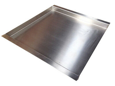 Hog Roast Carving Tray Hot Plate Stainless Steel - Medium