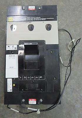 Square D LAF3640032MV1027 Motor Circuit Protector 400 Amp 3 Pole W/ Shunt Trip