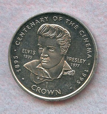 Gibraltar ~ 1996 ~ 1 Crown ~ Elvis Presley ~ Bu