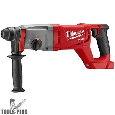 "M18 FUEL 1"" SDS Plus D-Handle Rotary Hammer (Tool Only) Milwaukee 2713-20 New"