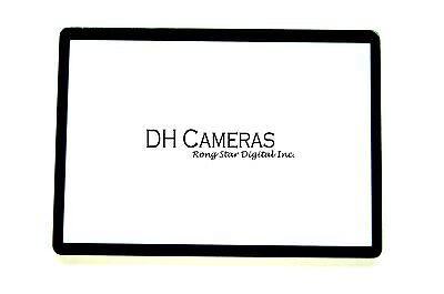 Canon EOS 600D /Rebel T3i Outer LCD Screen Display Window Glass Replacement part