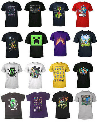 Authentic Minecraft Youth Kid T-Shirt NEW Jinx