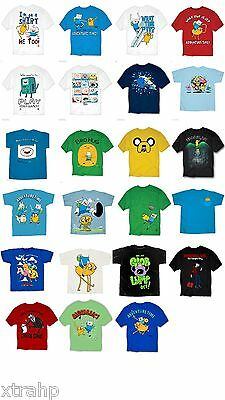 Adventure Time With Finn And Jake Adult Men T-Shirt S, M, L, XL, 2XL