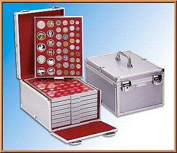Lindner 2358 Coin Carrying Case Aluminum