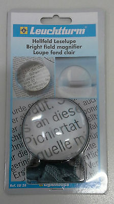 Loupe Hand Held Magnifier Glass with Acrylic lens and pouch.