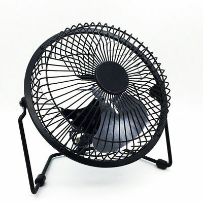NEW Jumbo 6inch USB Desk Cooler Cooling Fan Metal Construction HOME OFFICE AU
