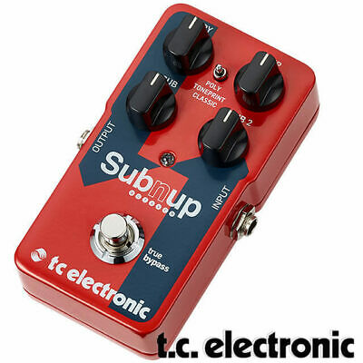 TC Electronic Sub 'n' up Polyphonic Octave Bass and Guitar Effect Pedal