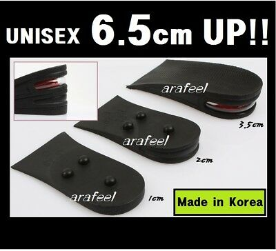Heel lifts pad 6.5cm 2.55in Height Increase Insole Shoe wedding day date Arafeel