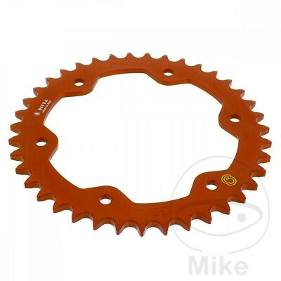 KTM Super Duke 1290 R ABS 2014 Sitta Orange Alloy Rear Sprocket (39 Teeth)