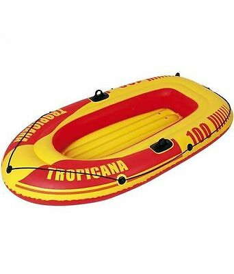 Tropicana Inflatable Dinghy Boat Swimming Pool Beach Float Toy ~ Adults/Children