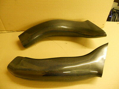 Suzuki Gsxr 600 750 K1 K2 K3 Real Carbon Air Tubes / Intakes / Ducts £99.99