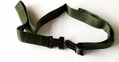 Child A Green 25mm Polypropylene Webbing Belt Quick Release Buckle Age 4-7 (TL24