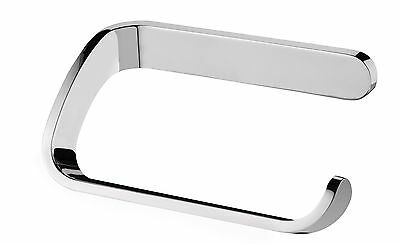 Bisk 13 x 7.5 x 5 cm Natura Toilet Roll Holder Chrome