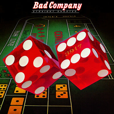 "Album Covers - Bad Company- Straight Shooter (1975) Album Poster 24""x 24"""
