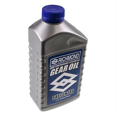 Richmond LUBE, 75w140, limited slip additive, 1 quart, synthetic, EACH