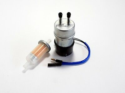 QUALITY Kawasaki Mule 3010 3020 Fuel Pump Replaces 49040-1055 with Fuel Filter