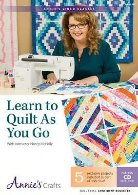 Learn to Quilt as You Go Class DVD : With Instructor Nancy McNally