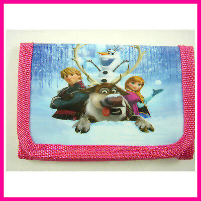 Princess Popular Cartoon Women Ladies Girl Kid Coin Money Pouch Bag Purse Wallet