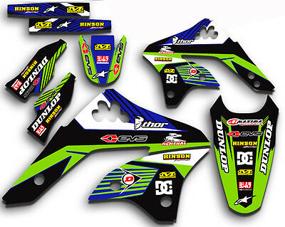 2006 2007 2008 Kxf 450 Graphics Kit Kawasaki Kx450F Kx F 450F Mx  Decals Kxf450