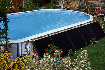 4'X20' Fafco Bear Solar Pool Heater W/ Integrated Valve and 6ft hoses and clamps