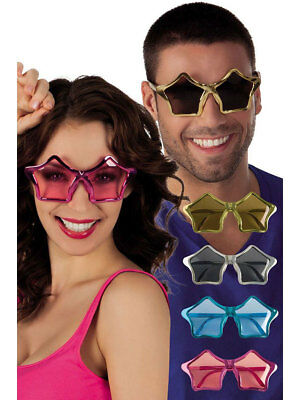 Partybrille Stern metallic Silvester Brille Fasching