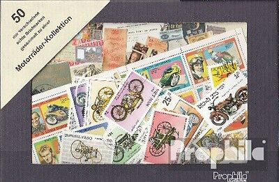 Motives 50 different Motorcycles stamps