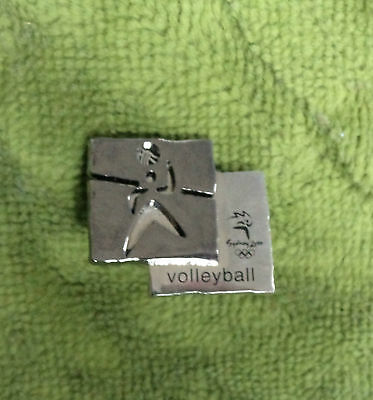 2000 Olympic Sports Metal Badge - Volleyball