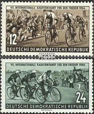 DDR 426-427 (complete issue) used 1954 Peace Race
