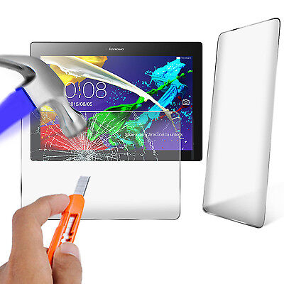 "Genuine Tempered Glass Screen Protector for Lenovo Tab 2 A10-70 10.1"" Tablet"