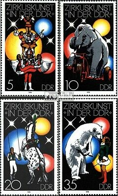 DDR 2364-2367 (complete.issue) unmounted mint / never hinged 1978 Circus