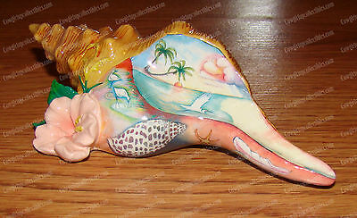 21405 - Horse Conch Shell (Nora Butler) Coastal, Tropical (Retired)