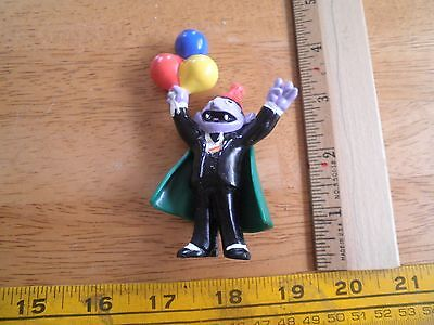 The Muppets Applause PVC figure The Count with balloons birthday Sesame Street