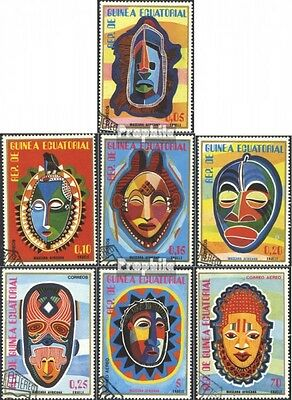 Equatorial-Guinea 1111-1117 (complete issue) used 1977 African