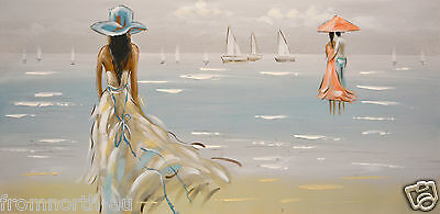 60*120cm Large Framed Originals Canvas Oil Painting Wall Art Ready to hang