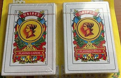 Pack Of 2 - Naipes Baraja Espanola 50 Puerto Rico Spanish Playing Cards Deck